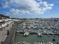 Le port de plaisance de Royan.