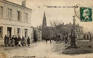 Place Camille Godard, vers 1900.