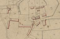 Extrait du plan cadastral de 1833, section C : parcelle 97.