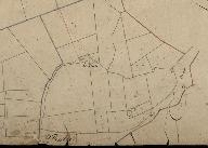 Extrait du plan cadastral de 1833, section D : Lillan.