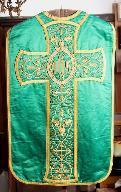 Chasuble (dos).