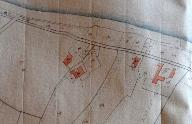 Extrait du plan cadastral de 1810, section B5, parcelle 1065.