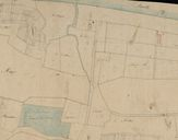 Extrait du plan cadastral, 1826, section B : mention du port.