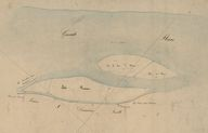 Extrait du plan cadastral de 1826, section A1.