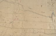 Extrait du plan cadastral de 1826, section B.