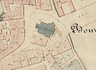 Extrait du plan cadastral de 1843, section B2.