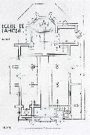 Plan. Extr. de : La Construction moderne, 9 octobre 1932.