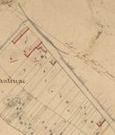 Extrait du plan cadastral, 1826, section B, parcelle 1.