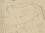 Extrait du plan cadastral de 1825, section A3, parcelle 510 : ancien moulin.