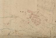 Extrait du plan cadastral de 1825, section A2 : Pouyallet.