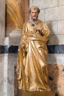 Statue de saint Joseph et son support